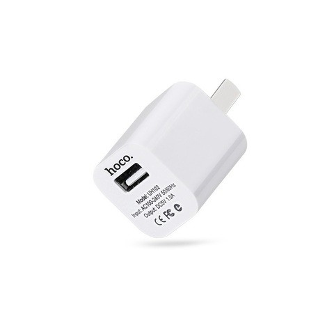Hoco UH102 5V 1A Smart Charging Adapter (CN) – White