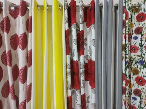 Export Quality Printed Curtain
