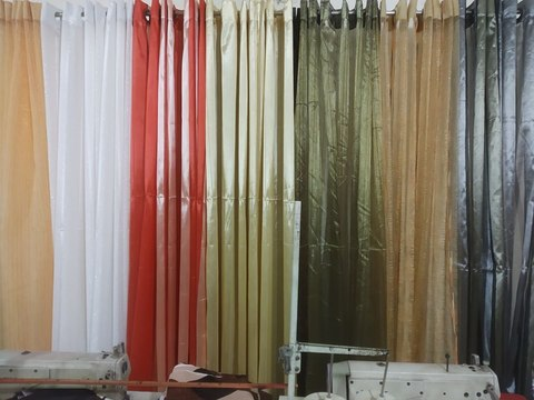 Romantic Curtain by Ortha