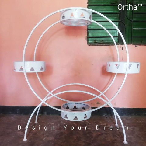 Round Shape Ortha Stand (Balcony/Indoor)