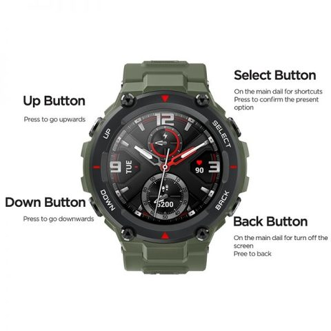 Amazfit T Rex Smartwatch with 12 Months Official Warranty