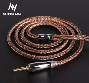 Yinyoo 16 Core High Purity Copper Cable with 0.78MM 2Pin connector for TFZ and BLON