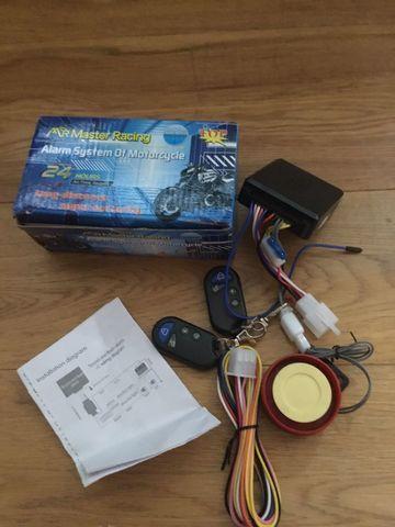 Mr master racing Motorcycle alarm system for bike