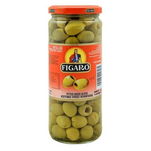 Pitted Green Olives -340 gm