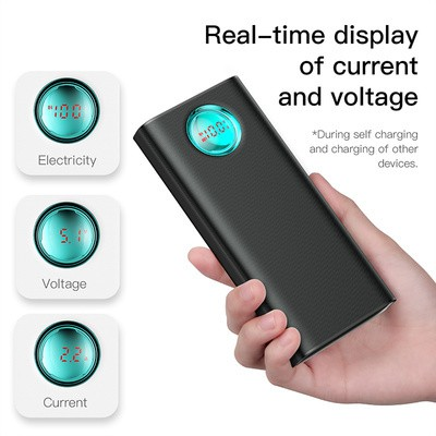 Baseus Amblight Quick Charger Digital Display Power Bank PD3.0+QC3.0 20000mAh