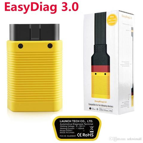 LAUNCH Diagnostic Tool EasyDiag X431 3.0 OBD2 Easy diag plus Android Bluetooth adapter OBDII scanner code reader