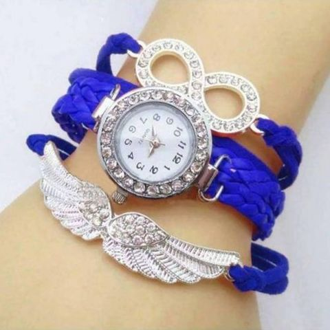 Ladies Bracelet Watch- Multi color
