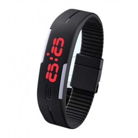Digital LED Sports Wrist Watch - Multi color