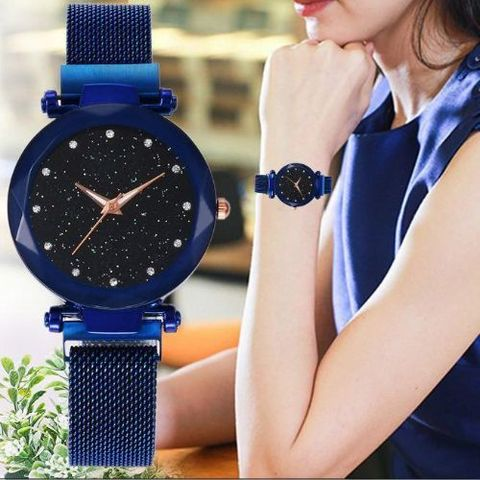 Magnet Analog Watch For Women - Multi color