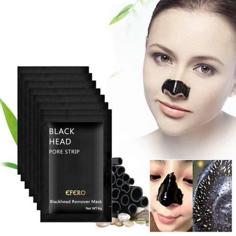 Black Head Remover Pore Strip Mask - 10 pcs Pack