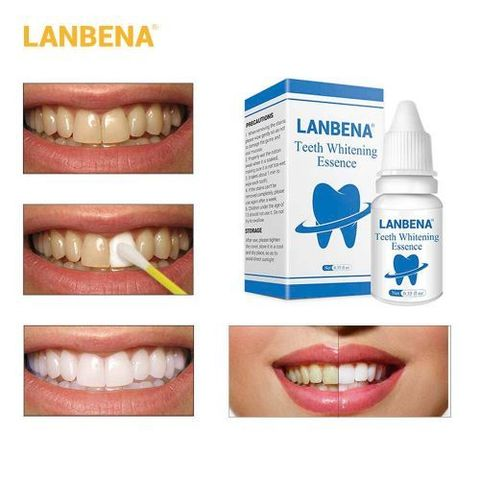 LANBENA Teeth Whitening Essence Powder Cleaning Whitening Serum
