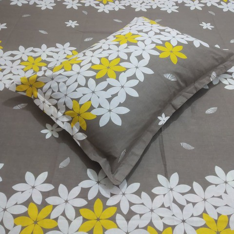 Cotton Double Bed sheet by Ortha