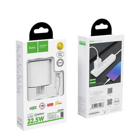 HOCO C69 Quick Charger 22.5W QC 3.0 USB Charger