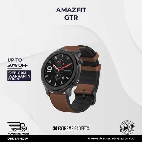 Amazfit GTR Aluminium Alloy(47mm) Global Version with 12 Months Warranty