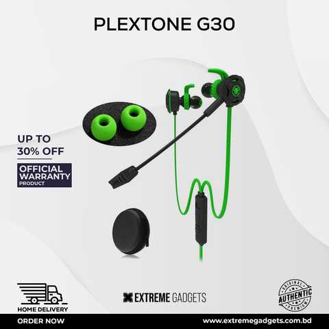Plextone G30 Wired Headphone