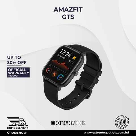 Amazfit GTS Smartwatch Global Version with 12 months Official Warranty