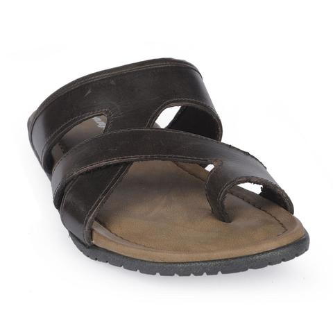 Men's Leather Sandal-9064112