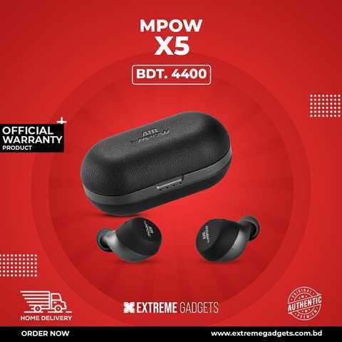 MPOW X5.1 True Wireless Earphone with 2 Years Official Warranty.