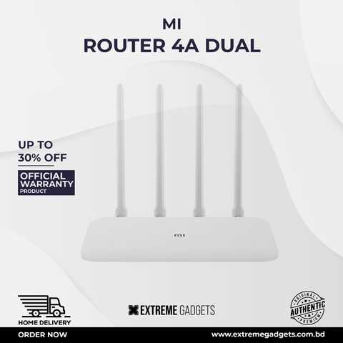Mi Router 4A Dual Band (Global Version) [6 Months Official Warranty]