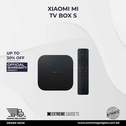 Xiaomi MI Box S Android TV Box Global Version (6 months official warranty)