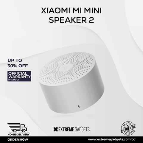 Mi Compact Bluetooth Speaker 2 [3 months Official Warranty]