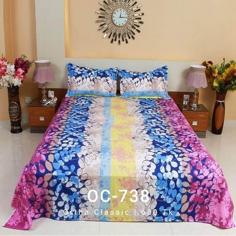 Ortha Classic Bedsheet Set - King Size