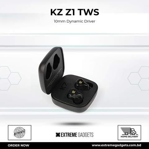 KZ Z1 TWS 10mm Dynamic Driver (4 months warranty)