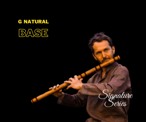 G Natural Base Customized Bansuri