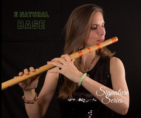 E Natural Base Customized Bansuri