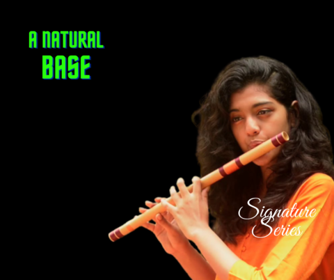 A Natural Base Customized Bansuri
