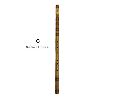 C Natural Base Special Base Bansuri Flute 35 Inch