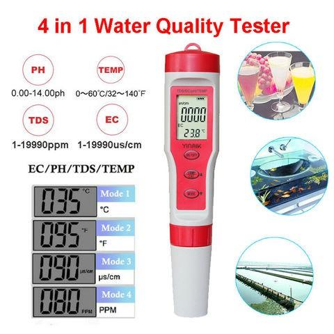 Digital Water Tester 4 in 1