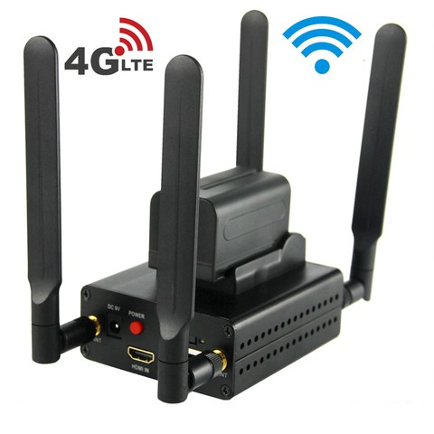4G Lte 1080P 1080i HDMI to IP Live Video Encoder H.264 H.265 HDMI Streaming Encoder WiFi with HTTP RTMP UDP SRT RTMPS HLS RTSP