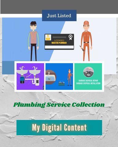 Plumbing Service Collection MDC (6+2 Bonus Videos)