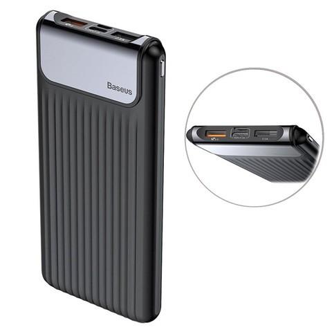 Baseus 10000mAh Quick Charge QC3.0 Power Bank with Dual Input & Output