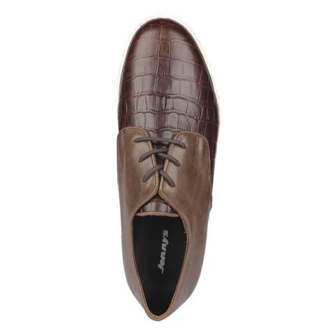Men's Leather Sneakers-9571102