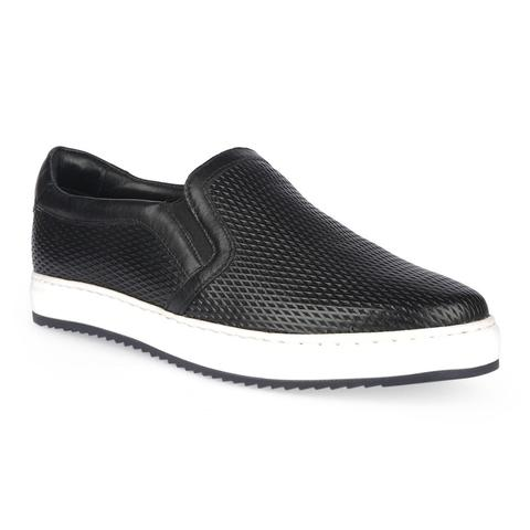 Jennys Men's Black Sneaker-9722101