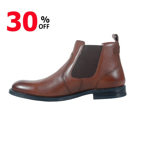 Brown Leather Boot for Men-1815072