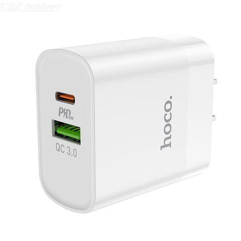 hoco. C80 Rapido PD+QC3.0 wall charger US plug