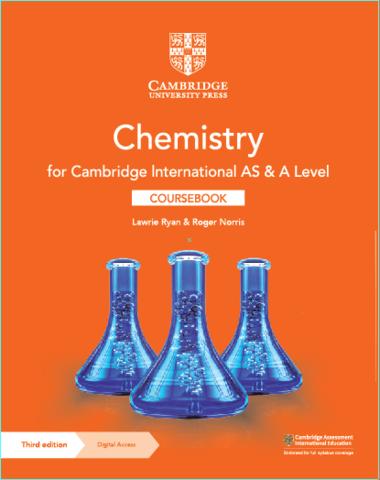 Cambridge International AS & A Level Chemistry Coursebook 3rd Edition