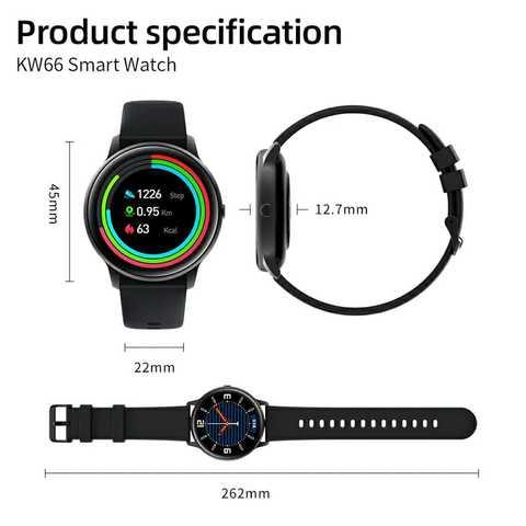 Xiaomi Imilab KW66 Smart Watch (6 months warranty)