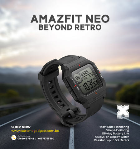 Amazfit Neo [12 months Official Warranty]