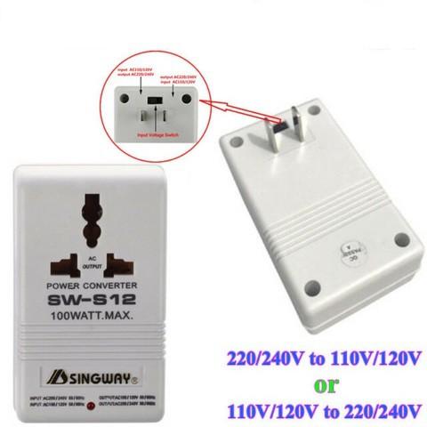 Voltage Converter 220v to 110v 100W