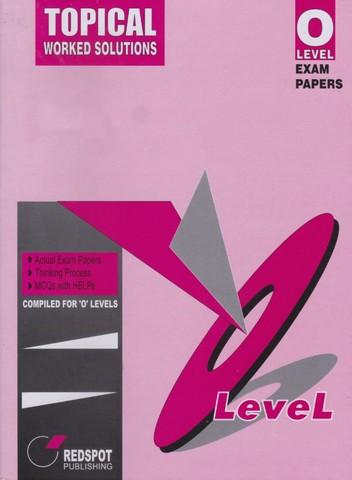Redspot O level Question Paper