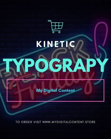 Various Kinetic Typography Bundle Offer