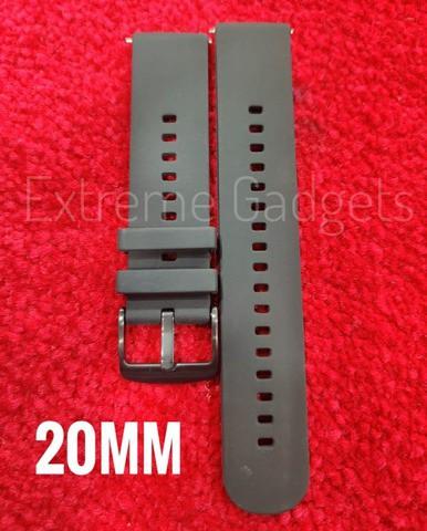 20mm Black Silicon Strap(AOOW)