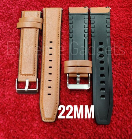 Artificial Leather Strap (22mm)