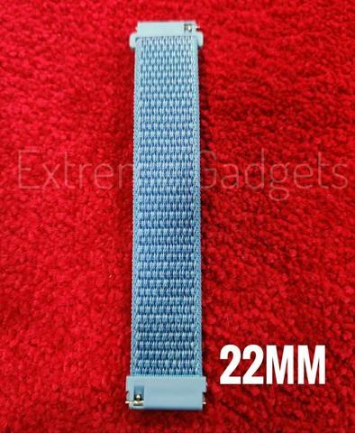 OMESHIN Nylon Braided Wristband Strap(22mm)