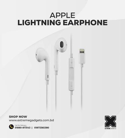 Genuine Apple Earpod Lightning Version HK [7 days replacement warranty]