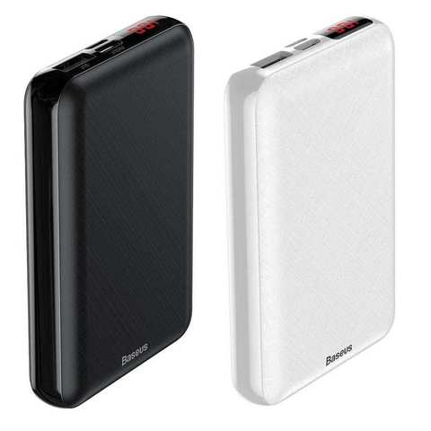 Baseus Mini S Digital Display Power Bank 10000mAh 12 Months Official Warranty